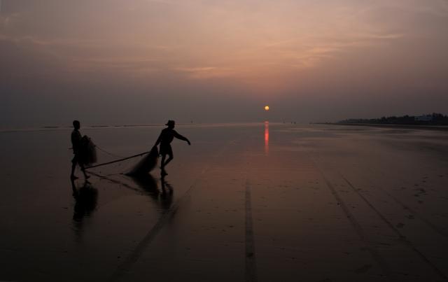 インドの海岸